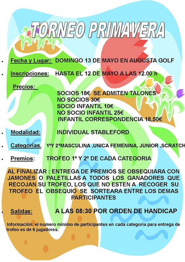 Golf Calatayud Primavera