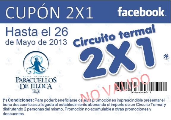 Esta semana el Balneario de Paracuellos lanza una promoción muy especial  para todos los amigos de nuestra página en facebook cbbb83d930337