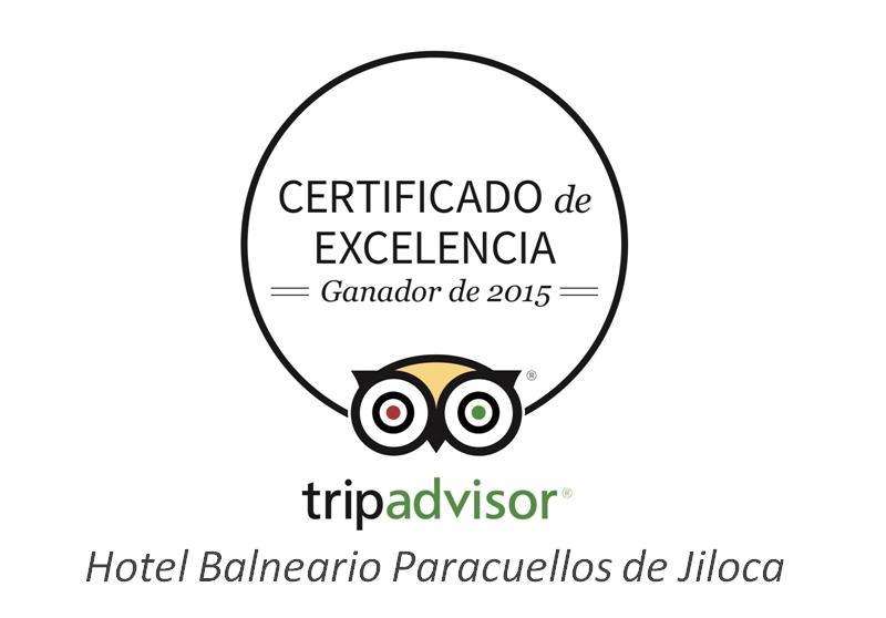 certificado excelencia tripadvisor 2015