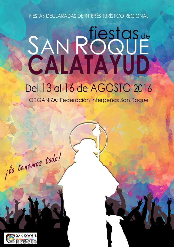 fiestas san roque calatayud 2016