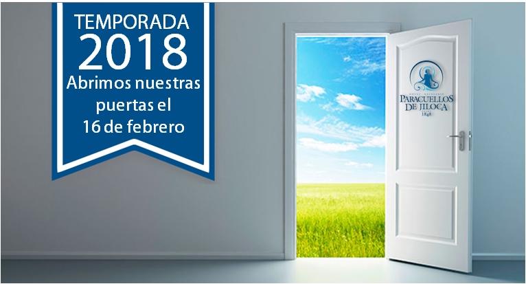 Temporada 2018 Balneario
