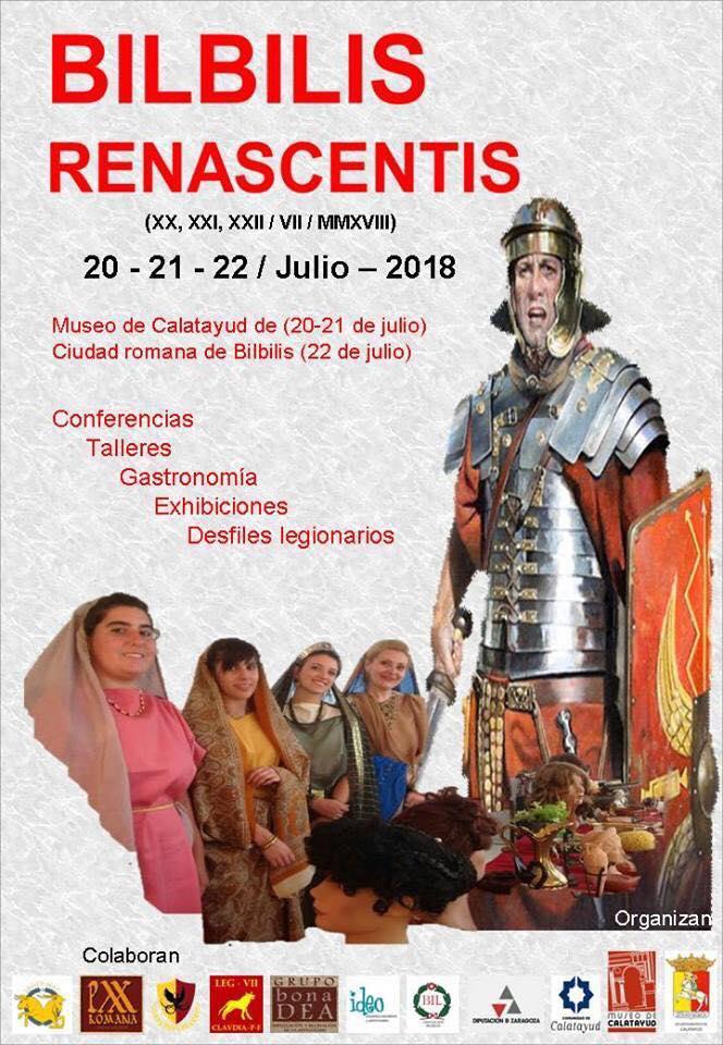Jornadas pasado romano de calatayud