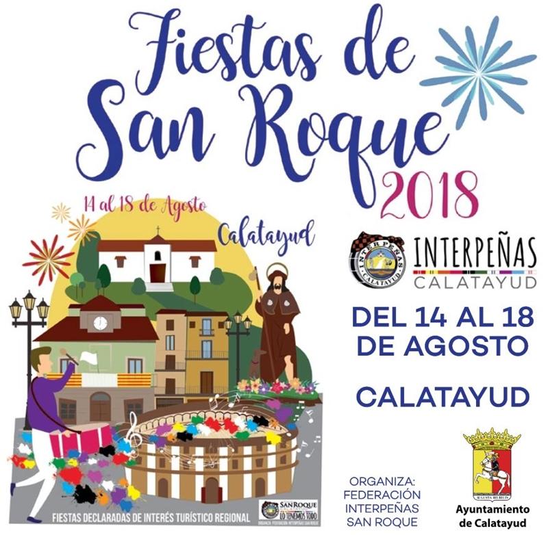 fiestas sanroque 2018 calatayud