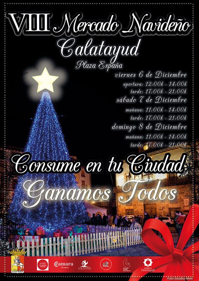 VIII mercado navideño Calatayud