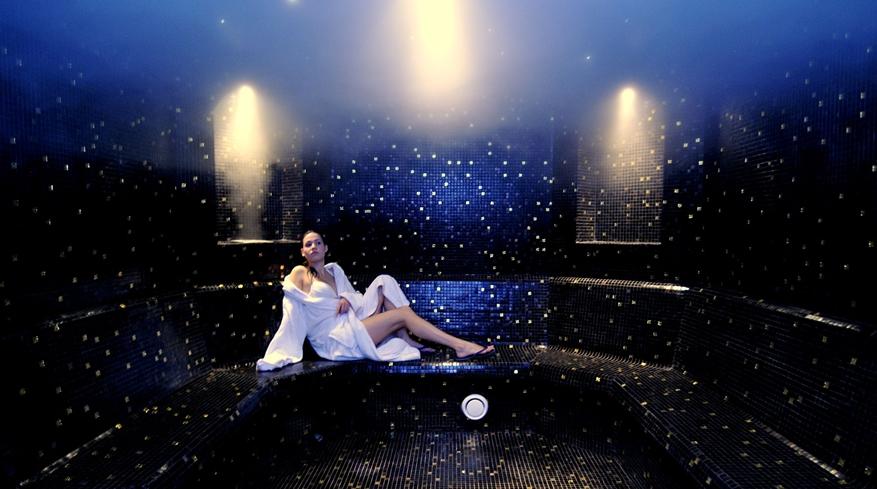 Baño de vapor Balneario