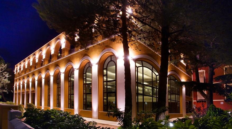 edificio termal Balneario Paracuellos