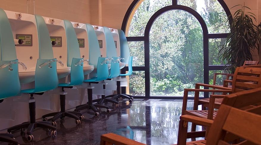 Sala respiratorio Balneario