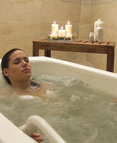 Baño termal individual Balneario Paracuellos
