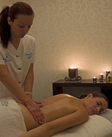 masaje corporal Balnearios