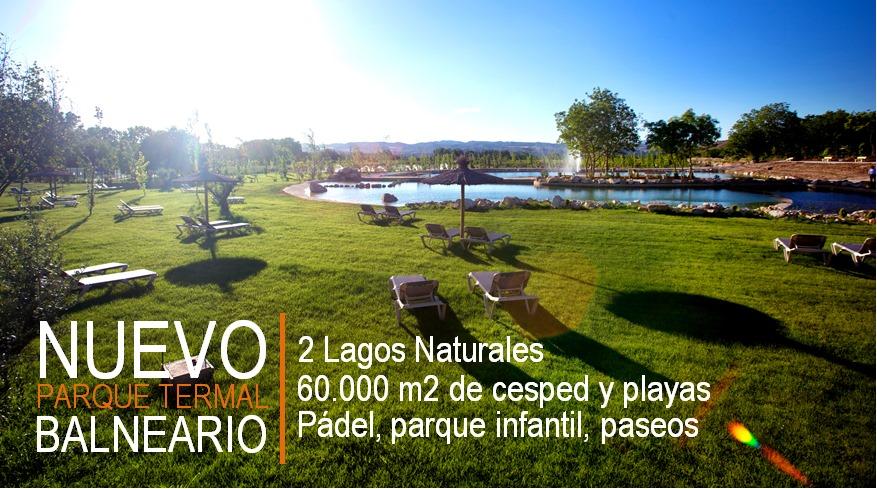Lago natural Balnearios Aragon