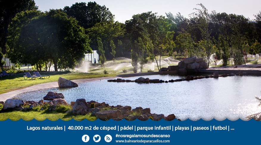Lago Balneario Aragon